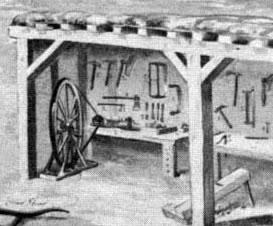 woodshop on site